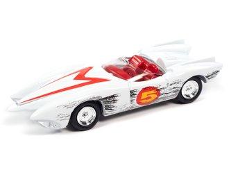 1:64 Speed Racer Mach 5 (Race Worn) (White)