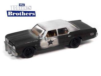 "1:64 1974 Dodge Monaco ""Blues Brothers"" (Black/White)"
