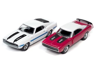 1:64 1970 Dodge Charger R/T SE & 1970 Shelby GT500