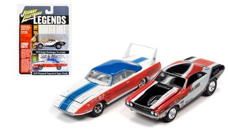 "LOTQM Super Stock 1970 Superbird ""Sox & Martin"" & LOTQM Pro Stock 1970 Challenger ""Dick Landry"""