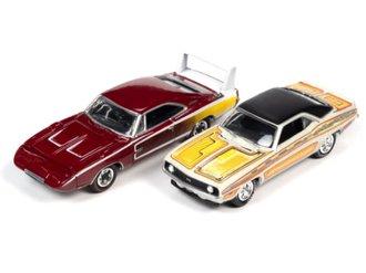 "1:64 1969 Camaro & Charger Daytona ""MCACN - Psychedelic 70s"""