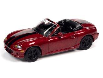 "1999 Mazda Miata ""Import Heat"" (Candy Apple Red, Black Stripes)"