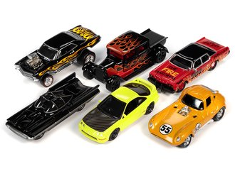 Johnny Lightning 1:64 Street Freaks Series 2020 Release 3A (Set of 6)