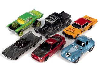 Johnny Lightning 1:64 Street Freaks Series 2020 Release 3B (Set of 6)