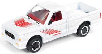 1:64 1991 GMC Syclone (Gloss White w/Red Graphics)