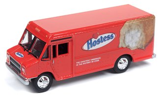 "1:87 1990's GMC Step Van/Delivery Truck ""Hostess"" (Red)"