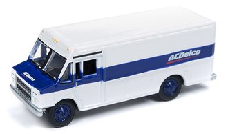 "1990's GMC Step Van/Delivery Truck ""AC Delco"" (White)"