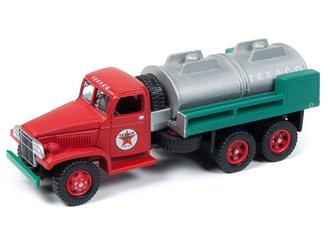 "1:87 1940's GMC 6x6 Tanker ""Texaco"" (Red/Green)"