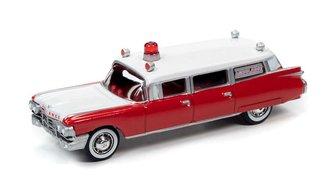 1959 Cadillac Ambulance (Red/White)