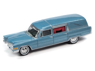 1959 Cadillac Hearse (Blue)