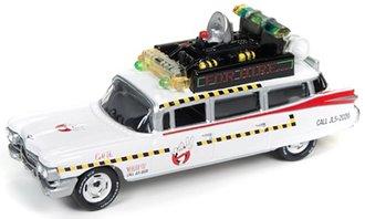 1:64 Ghostbusters™ II Ecto-1A 1959 Cadillac Ambulance