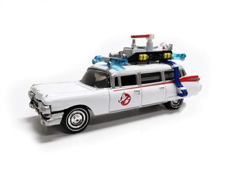1:64 Ghostbusters™ Ecto-1 1959 Cadillac Ambulance (White)