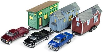 Johnny Lightning 1:64 Tiny House Series Release 2A (Set of 3)