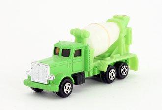 Road Machines - Peterbilt Mixer Truck (Green/White)
