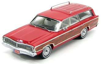 1968 Ford Country Squire Station Wagon (Red)
