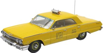 "1:43 1963 Chevrolet Biscayne ""NYC Taxi"" (Yellow)"