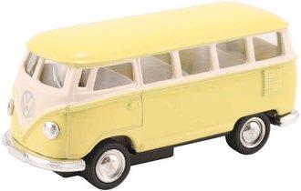 1:64 1962 VW Samba Bus (Pastel Yellow)