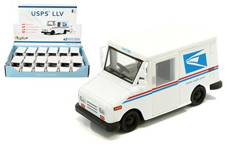 1:36 United States Postal Service (USPS) Grumman Long-Life Postal Delivery Vehicle (LLV) (Box of 12)