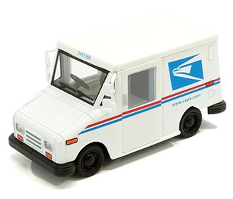 1:36 United States Postal Service (USPS) Grumman Long-Life Postal Delivery Vehicle (LLV)