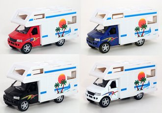 1:43 Camper RV Van (Assorted Colors)
