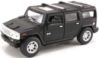1:43 Hummer H2 SUV (Primer Black)