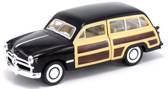 1:43 1949 Ford Woody Wagon (Black)