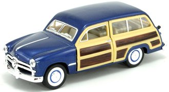 1:43 1949 Ford Woody Wagon (Blue)