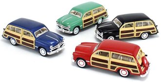 1:43 1949 Ford Woody Wagon (Set of 4)