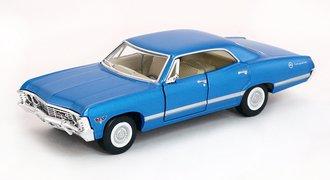 1:43 1967 Chevrolet Impala (Blue)