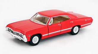 1:43 1967 Chevrolet Impala (Red)
