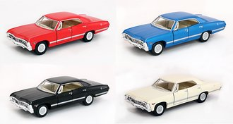 1:43 1967 Chevrolet Impala (Set of 4)