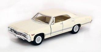1:43 1967 Chevrolet Impala (White)