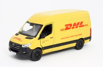 "1:43 Mercedes-Benz Sprinter Van ""DHL"" (Yellow)"