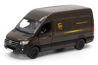 """1:43 Mercedes-Benz Sprinter Van """"UPS"""" (Brown)"""