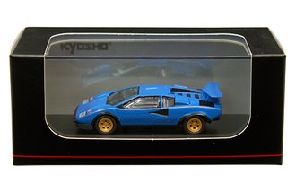 1:64 Lamborghini Countach LP500S (Blue)