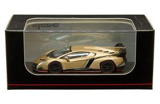 1:64 Lamborghini Veneno (Gold w/Red Line)