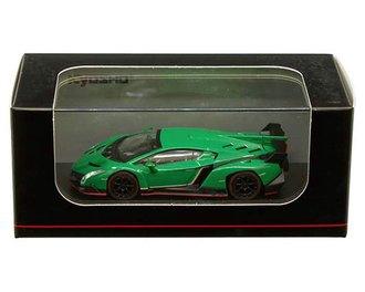 1:64 Lamborghini Veneno (Green w/Red Line)