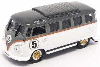 1:43 1962 Volkswagen Microbus (White/Gray)