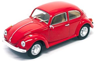 1:43 1972 VW Beetle Sedan (Red)