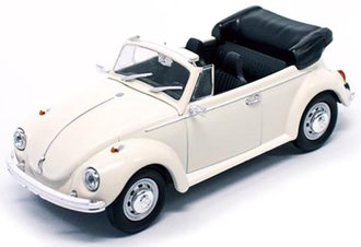 1:43 1972 VW Beetle Open Roof (Cream)