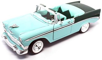 1:18 1956 Chevy Bel Air Convertible (Green/Dark Green)