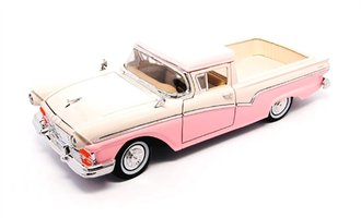 1:18 1957 Ford Ranchero (Pink/White)