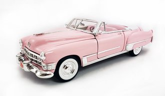 1:18 1949 Cadillac Coupe Deville Convertible (Pink)
