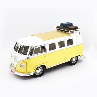 1:18 1962 VW Microbus (Yellow) w/Luggage