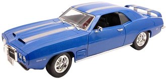 1969 Pontiac Firebird Trans Am (Blue)