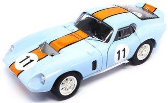 1:18 1965 Shelby Cobra Daytona Coupe (Blue)