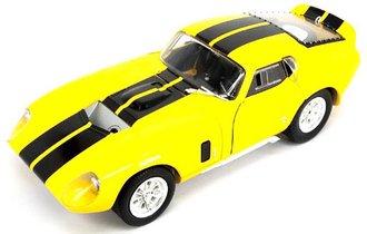 1:18 1965 Shelby Cobra Daytona Coupe (Yellow)