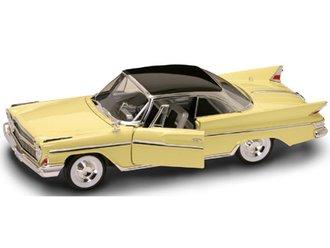 1:18 1961 DeSoto Adventurer (Yellow/Gray)