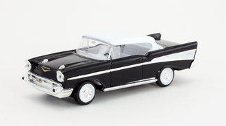 1:43 1957 Chevy Bel Air Hardtop (Black)