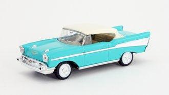 1:43 1957 Chevy Bel Air Hardtop (Turqouise)
